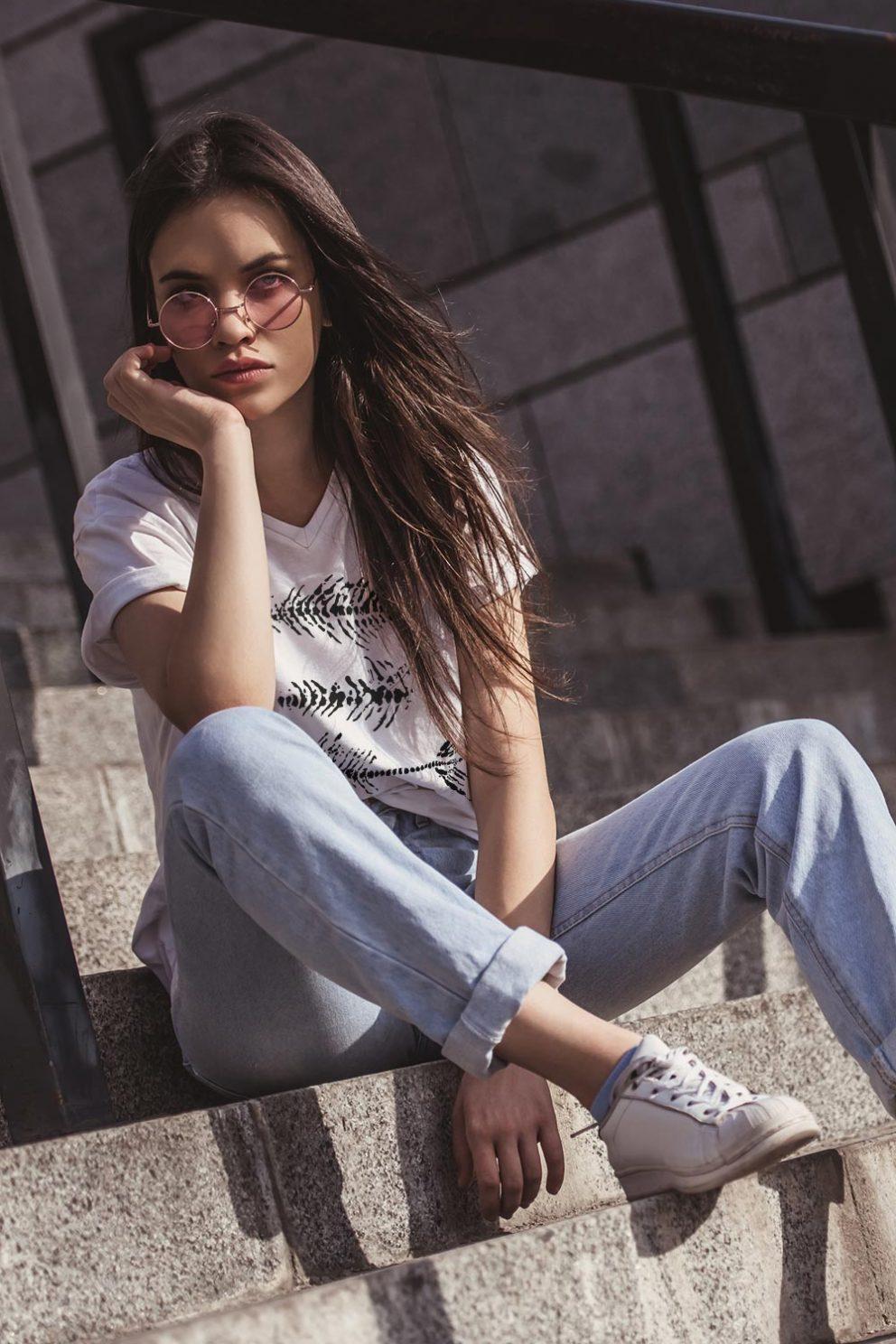 Kyst-shirt Froxa West T-shirt