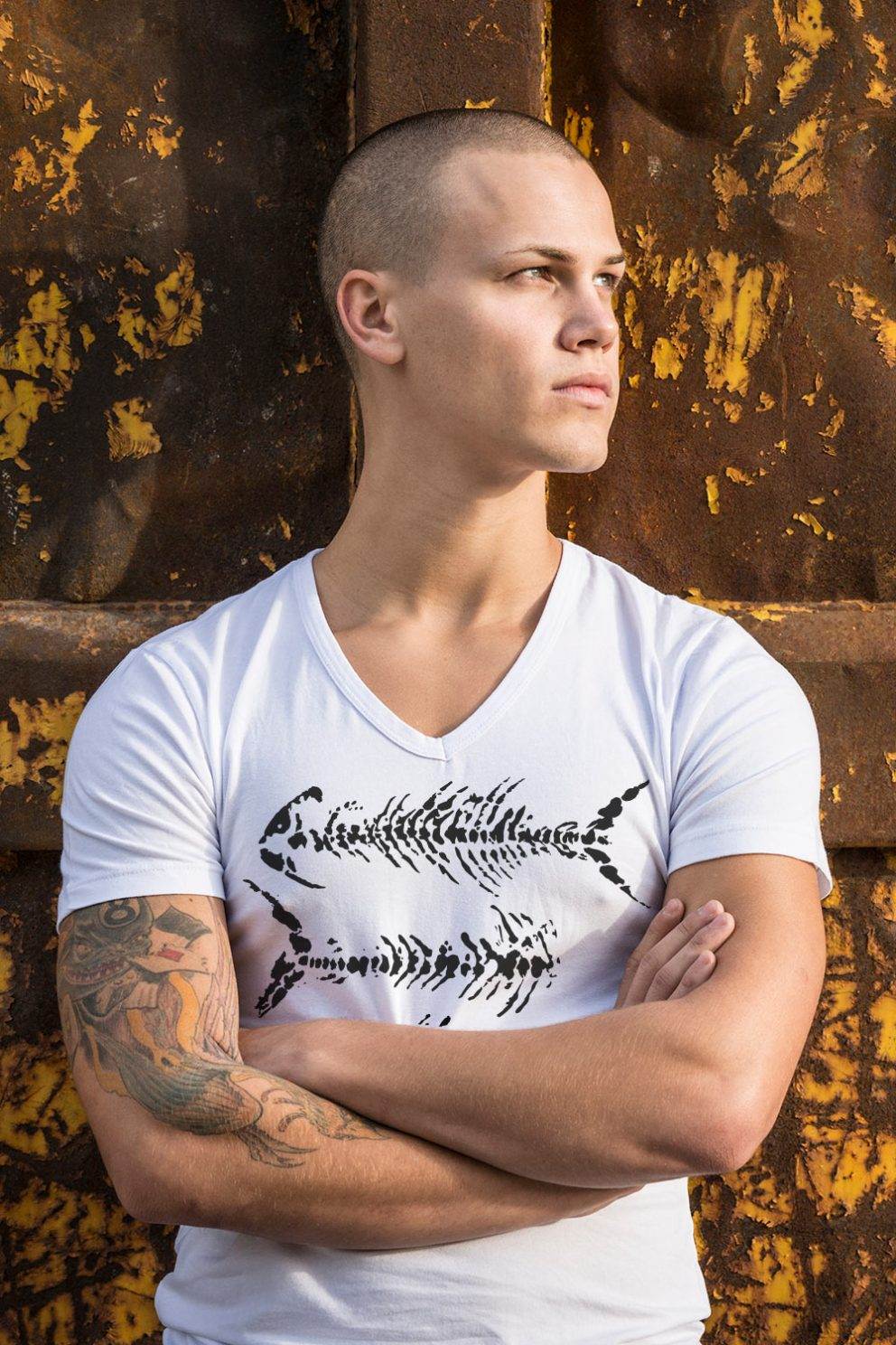 Kyst-shirt Vage West T-shirt